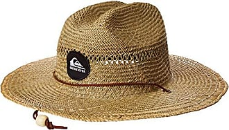 Quiksilver Mens Pierside SLIMBOT Sun Protection HAT, Natural, S/M