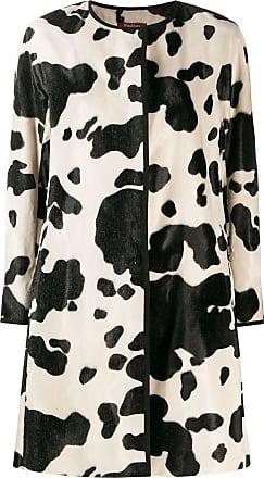 Max Mara printed coat - Preto