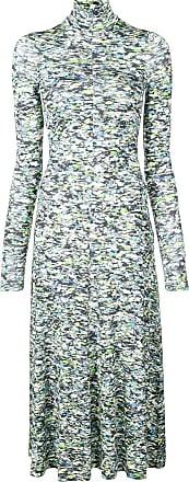 Rosetta Getty printed midi dress - Cinza