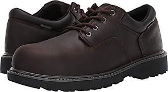 Wolverine Mens Floorhand Oxford Steel Toe Construction Shoe, Brown, 9 M US
