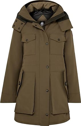 Canada Goose Gabriola Hooded Quilted Shell Down Parka - Green