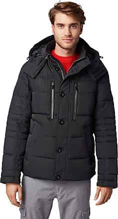 Tom Tailor Tom Tailor Mens Puffer Jacket, Black (Black 29999), XXL