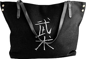 Juju Wushu (chinese) Womens Classic Shoulder Portable Big Tote Handbag Work Canvas Bags