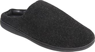 Zedzzz Mens Tony Mule Slippers (10 UK) (Black)