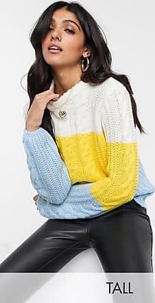 Y.A.S. Tall Aria colourblock pullover knit jumper-Multi