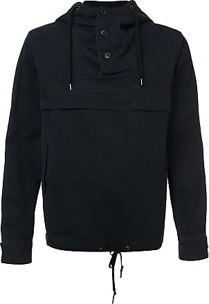 321 layered jersey hoodie - Blue