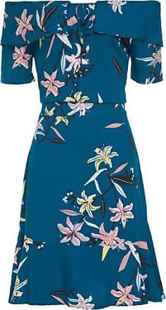 cdcfcd2c5 Maria Filó Vestido Curto Floral Pequi Maria Filó - Azul