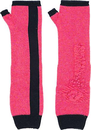 Barrie Par de luvas em cashmere - Rosa