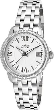 Invicta Womens Specialty Stainless Steel White Waffle Dial