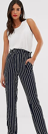 Y.A.S. Tall Pantaloni a righe-Navy