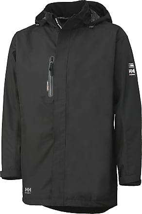 Helly Hansen Mens HAAG Waterproof Windproof Workwear Parka Jacket Black