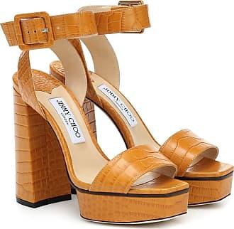 Jimmy Choo London Jax 125 leather platform sandals