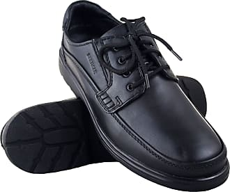 Zerimar Mens Leather Shoes | Casual Mens Shoes | Elegant Shoes for Men | Leather Shoes for Men Colour: Black Size 8 UK - 42 EU