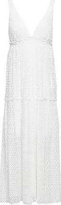 Missoni Missoni Woman Ruffle-trimmed Crochet-knit Midi Dress White Size 40