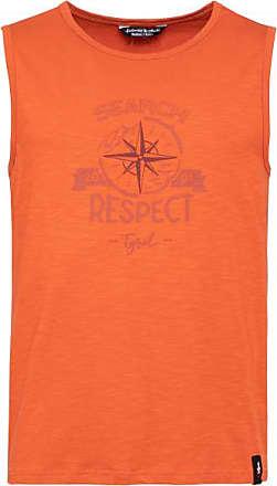 Chillaz Calanques Search Respect Canotta Uomo | arancione