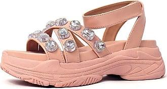 Damannu Shoes Sandália Anette Rosa Quartzo - Cor: Rosa - Tamanho: 34