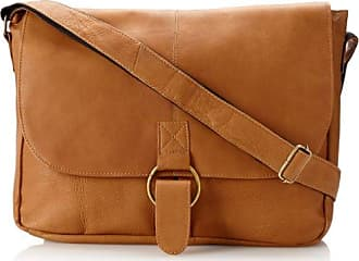 David King & Co. Messenger Bag Plus 3, Tan, One Size