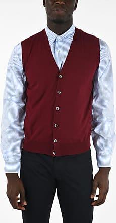 Corneliani CC COLLECTION Virgin Wool Sleeveless Cardigan size 50