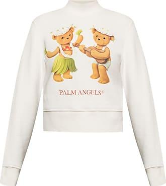 Palm Angels Logo Sweatshirt Womens White