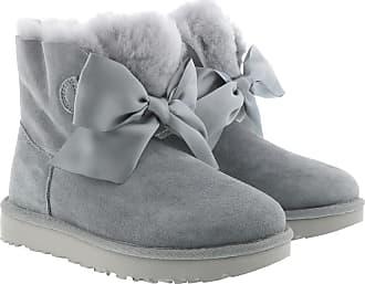 UGG Boots & Booties - W Gita Bow Mini Geyser - grey - Boots & Booties for ladies