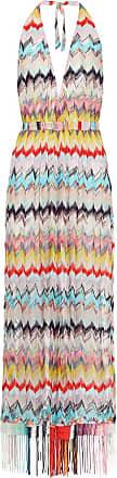 Missoni Chevron halter-neck dress