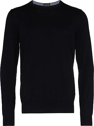BOSS Pacas fine knit jumper - Blue