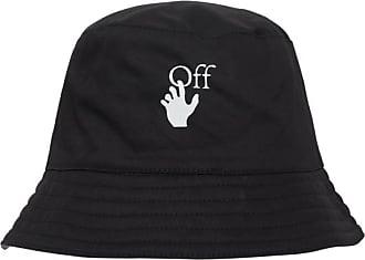 Off-white Off-white Logo bucket hat BLACK/DARK GREY U