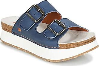 84ae3c7c9374e8 Art Mykonos Sandalen Sandaletten Damen Blau Weiss - 38 - Sandalen  Sandaletten