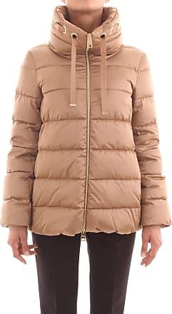 Herno PI1125 12170 Womens Jacket and Jacket - Beige - UK 18