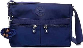 Kipling Womens Angie Crossbody Bag, Adjustable Shoulder Strap, Zip Closure, Cobalt Dream Tonal