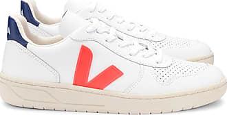 Veja V 10 Extra White Orange Fluor Schuhe - 44