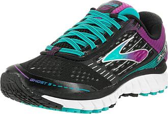 99ed7e670631 Brooks Womens Ghost 9 Wide Black Sparkling Grape Ceramic Running Shoe 6.5  Wide Women