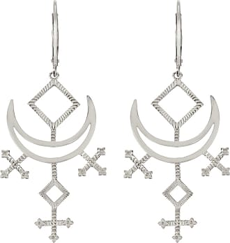 Zoe & Morgan Melodie Ohrringe Silber - one size | sterling silver | silver - Silver/Silver