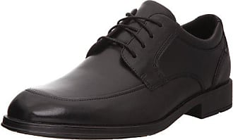 Rockport Mens Schemerhorn Mocc Toe Oxford-Black-12 W