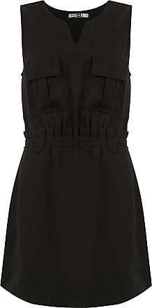 Pop Up Store Vestido curto com bolsos - Preto