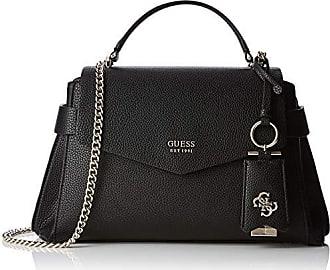 de0d39f693 Guess Colette Shoulder Bag, femme, Noir (Nero), 33.5x22x11 cm (