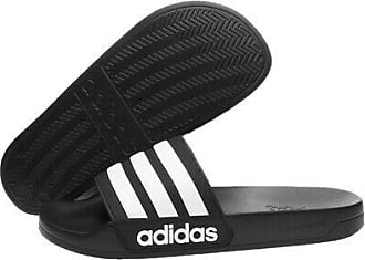 Adidas Adilette Shower Badelatschen Badeschuhe Sandale Schuhe black white AQ1701