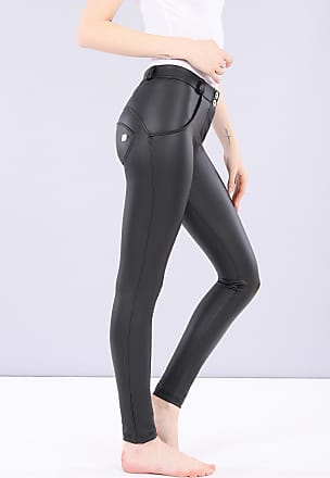 Freddy WR.UP regular-rise skinny-fit trousers in faux leather