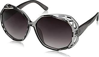 1ee643ea9ce1 Jessica Simpson Womens J5724 Gry Non-Polarized Iridium Round Sunglasses  Grey 70 mm