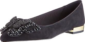 Kurt Geiger Womens NABEELA Loafers, Black, 5 UK