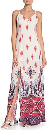 Mustard Seed Keyhole Sleeveless Maxi Dress
