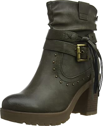 Refresh Womens 69216 Ankle Boots, Green (Kaki Kaki), 6 UK