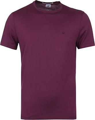 C.P. Company Gloxinia Lila Baumwolle 05CMTS078A000444S / 588 Re Color Goggle Hood Zurück Mako Jersey Tee - m | cotton | Gloxinia Purple