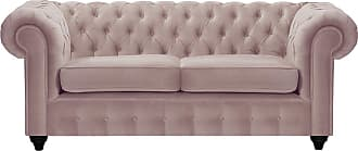 SLF24 Chesterfield Max 2 Seater Sofa-Velluto 14