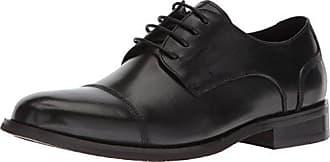 Zanzara Mens RAVEEL Oxford Black 9.5 Standard US Width US