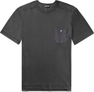 Zimmerli Cotton And Modal-blend Pyjama T-shirt - Dark gray