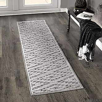 Orian Rugs Boucle South 2 West Silverton Runner Rug, 111 x 76, Grey