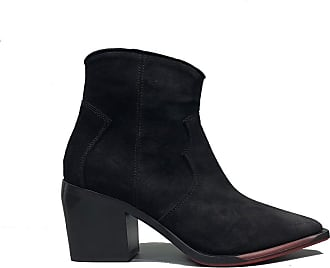 2019 Ecco Shape 45 Pointy Block Brun Dame Støvler Outlet