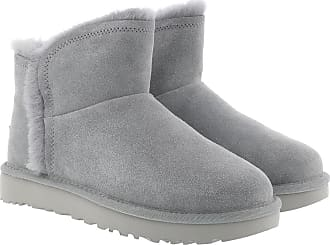 UGG Boots & Booties - W Classic Mini Fluff High-Low Geyser - grey - Boots & Booties for ladies