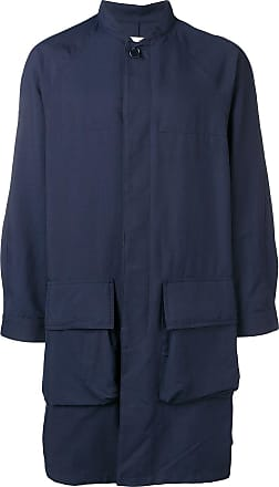 Ymc You Must Create single-breasted coat - Blue
